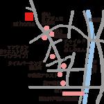 at homeまでの地図